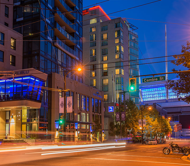 Downtown Vancouver: Mayfair Hotels & Resorts